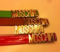 Пояс Moschino искусственная кожа жен. Весна-Лето 2017