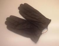 Перчатки б/и кожа муж. Осень-Зима 2016
