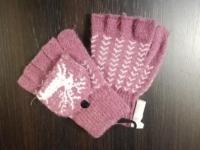 Перчатки б/и текстиль жен. Осень-Зима 2018